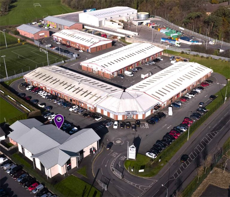 Dungannon Enterprise Centre Aerial Photo