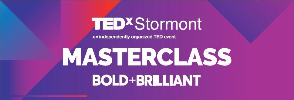 TEDxStormont Women BOLD+BRILLIANT Masterclass